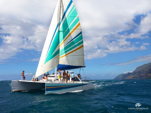 Product NaPali Sailing Catamaran Snorkel